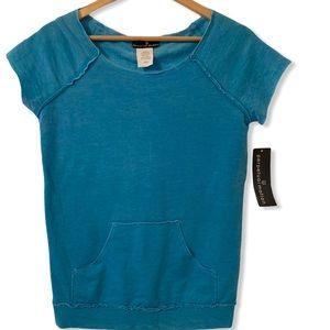 Tops - Pertetual Motion cutoff sleeves sweat top Size S